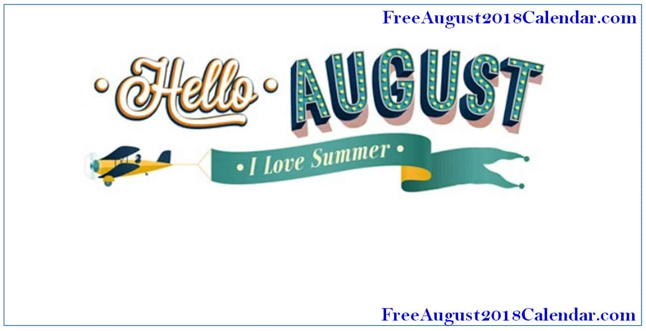 August Images Clipart