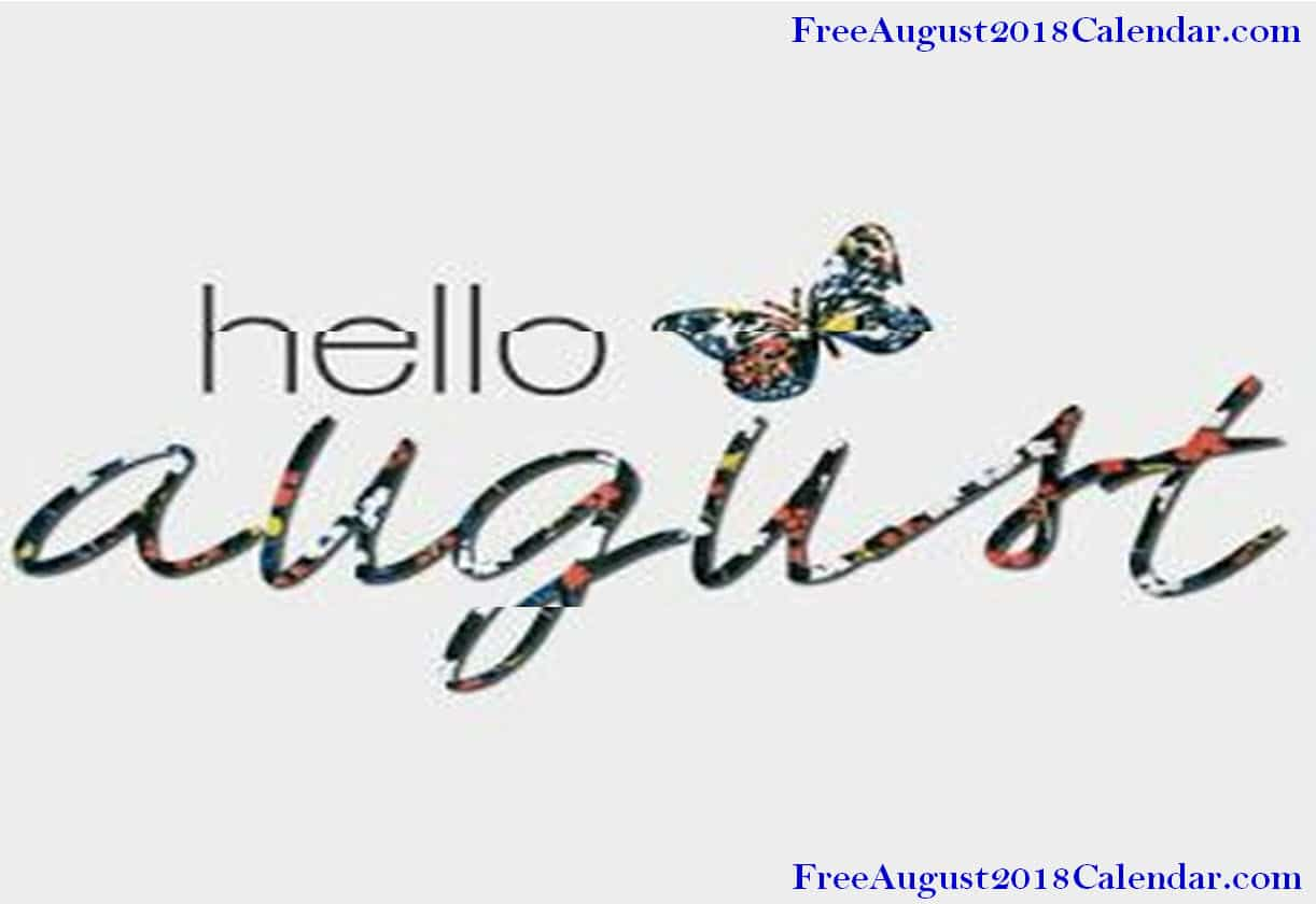 August Pics