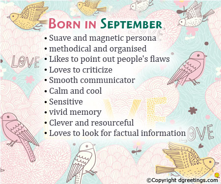 Born in September Images