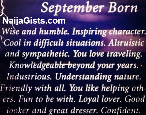 Born in September Meaning