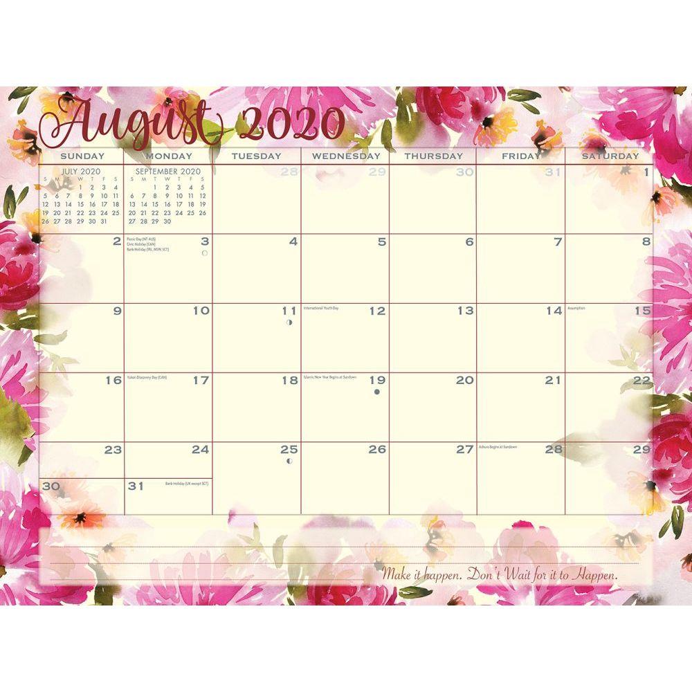 Floarl August Calendar 2020