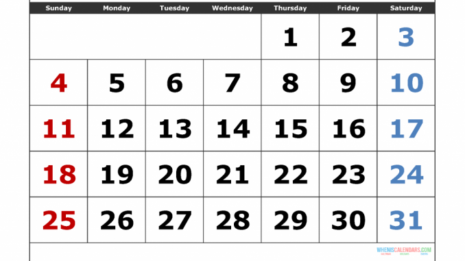 ✅ Top 25+ Free August 2019 Calendar PDF Word Page Excel
