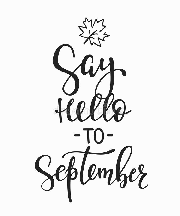 Say Hello To September Quotes