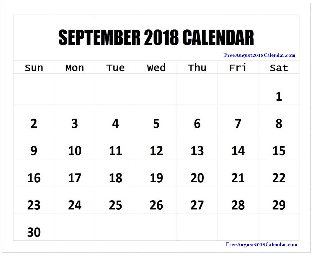 september 2018 calendar page september 2018 calendar landscape