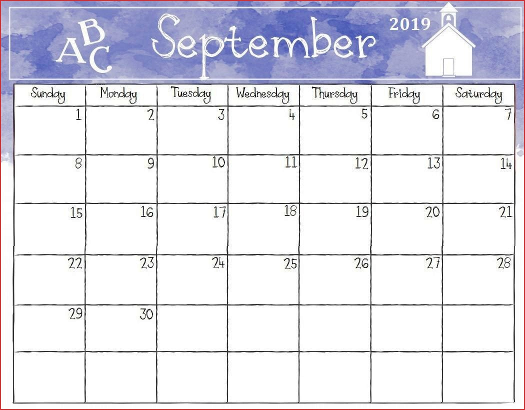 September 2019 Calendar with Holidays Canada