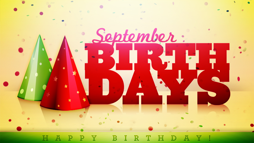 September Birthday Month Images