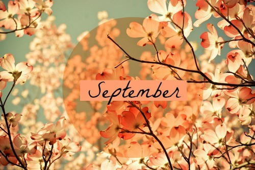 September Clipart With Nature