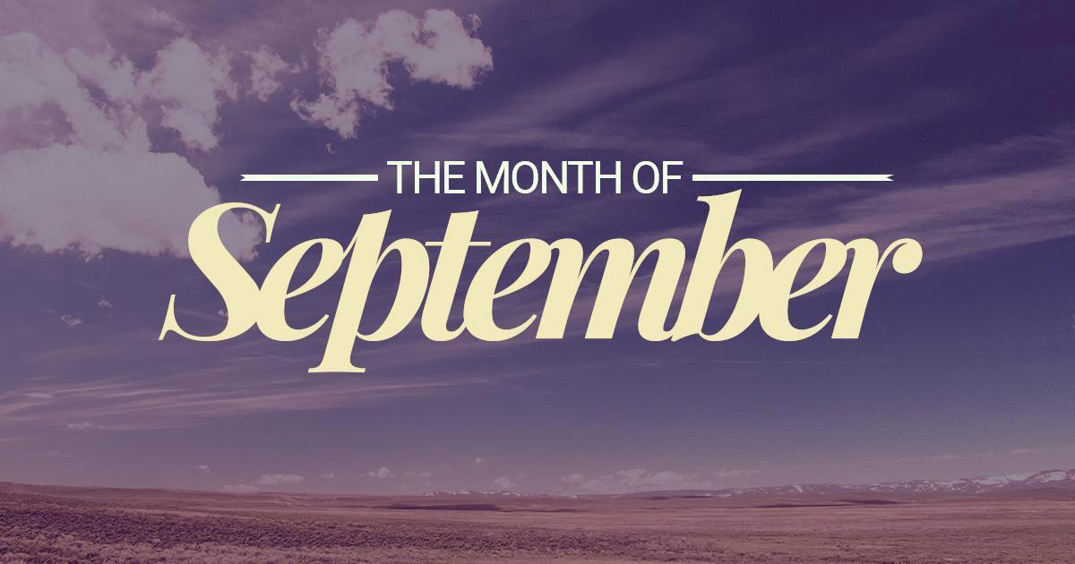 September Month Images