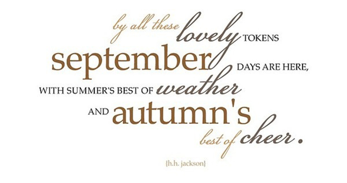 september month quotes