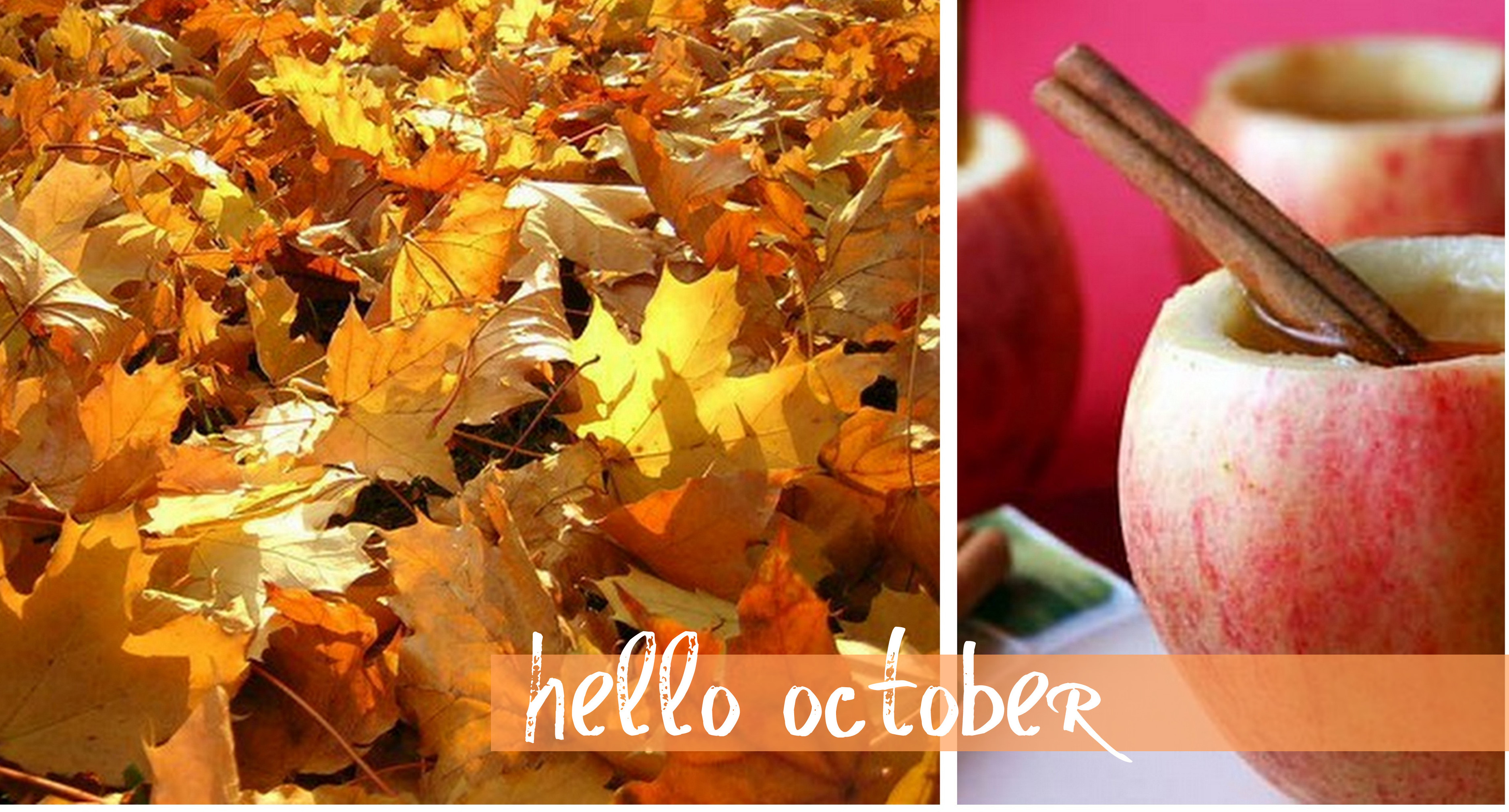 Goodbye September Hello October Pics