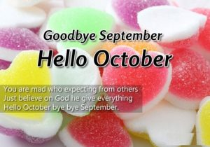 Goodbye September Hello October Quotes Images