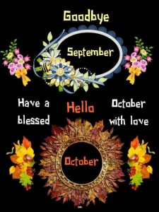 Goodbye September Hello October Quotes Tumblr