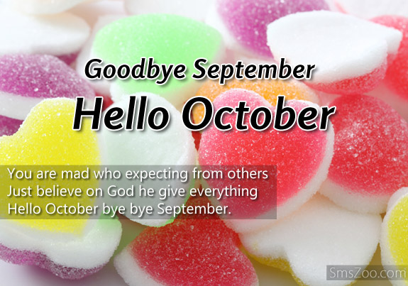 Goodbye September Hello October Wallpapers