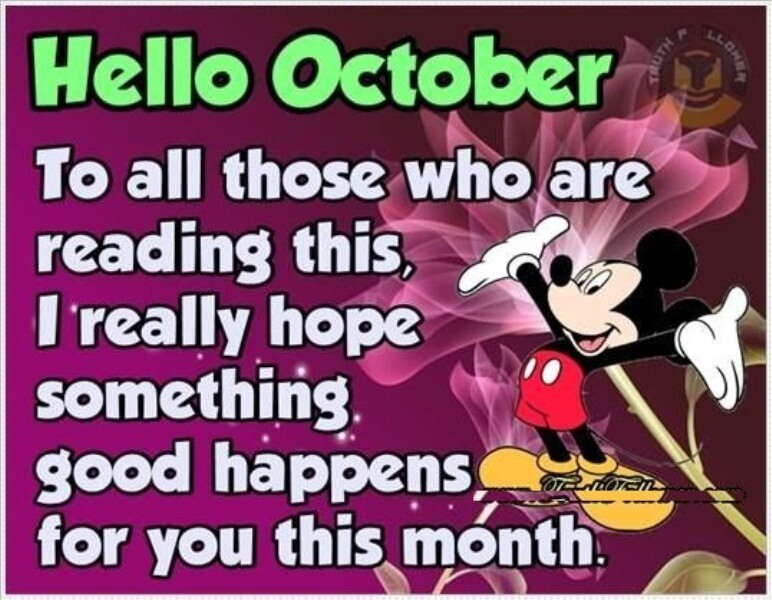 Hello October Funny Quotes