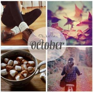 Hello October Images Free Download