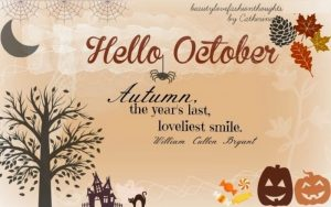 Hello October Quotes and Images