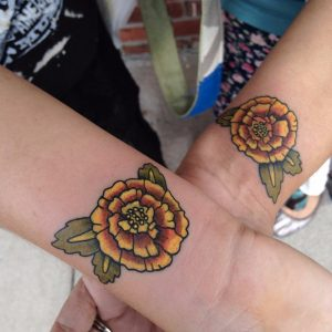 October Birth Flower Tattoo Pictures