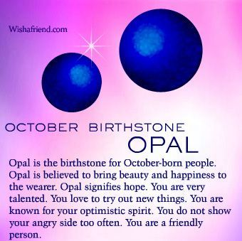 Opal October Birthstone Meaning