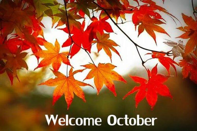 Welcome October Images Facebook