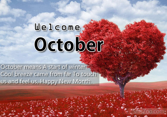 Welcome October And Goodbye September Images Quotes Pictures Clipart