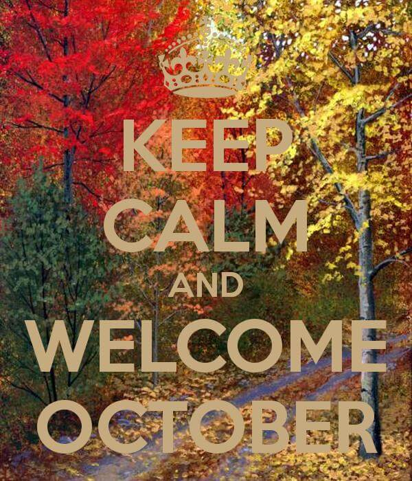 Welcome October Quotes Twitter