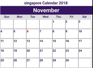 november 2018 calendar with holidays malaysia