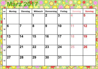 Netter März 2019 Kalender