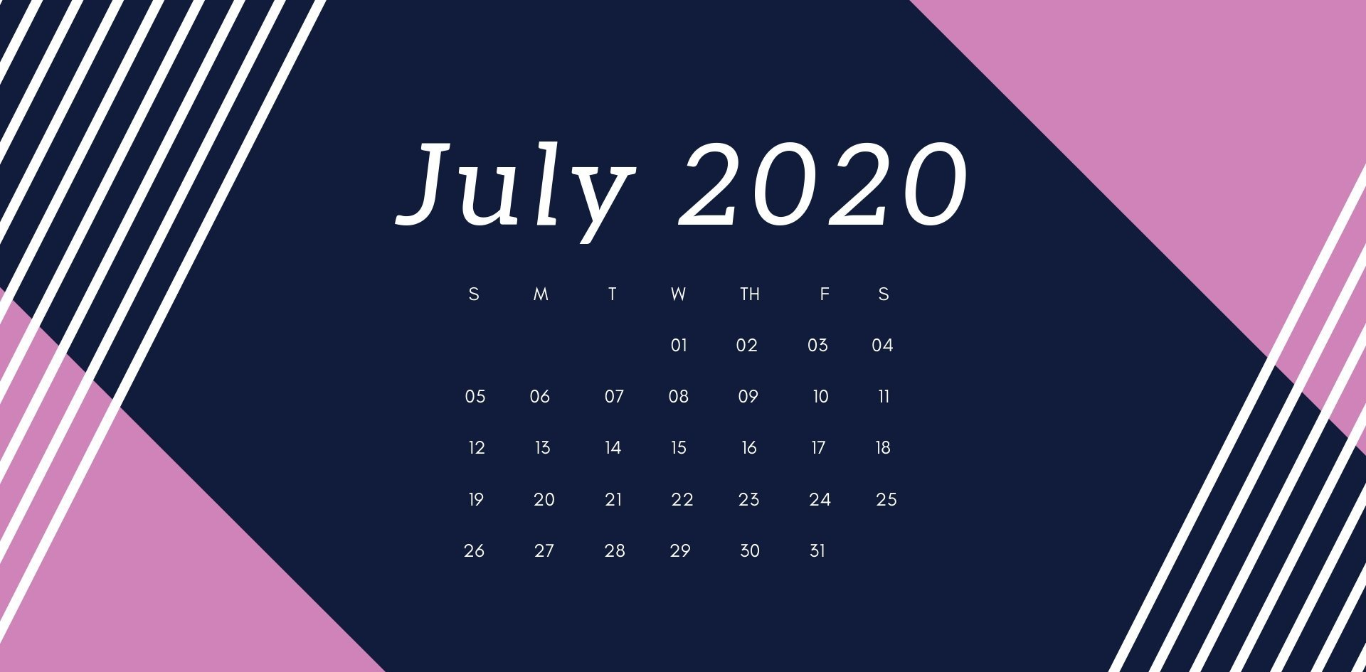 June 2020 Calendar HD Wallpaper