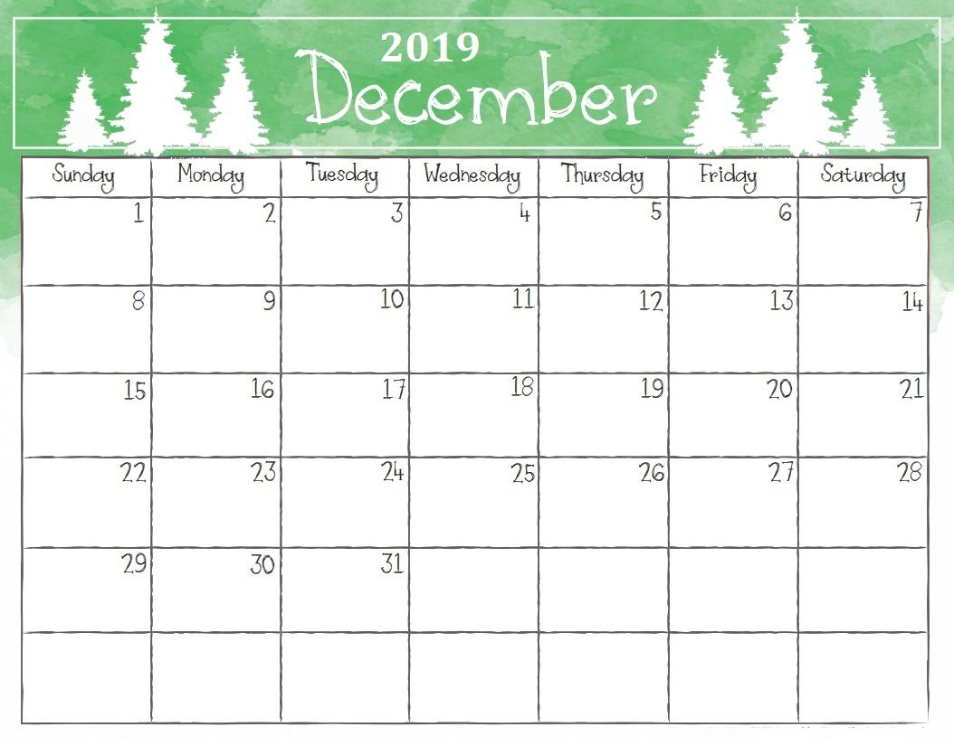 picture relating to Printable December Calendar With Holidays identify december calendar 2019 - Totally free August 2019 Calendar Printable