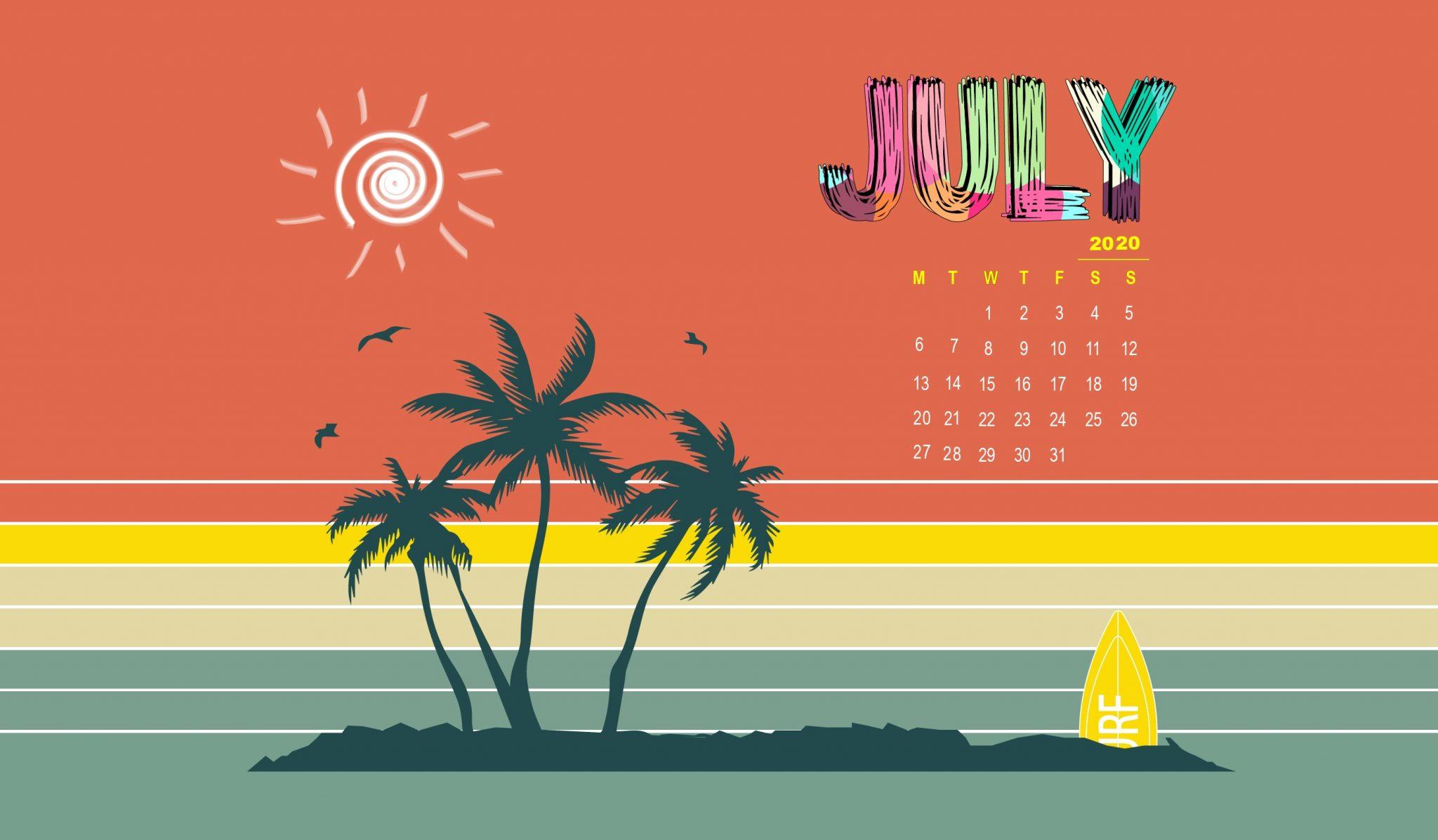 Desktop July 2020 Wallpaper