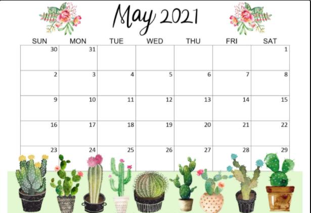 May 2021 Desktop Wallpaper HD