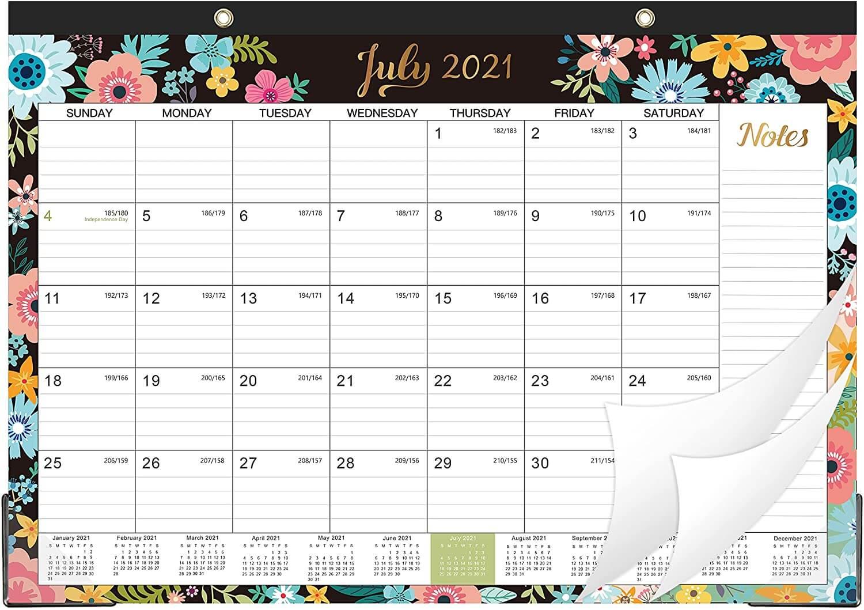 July 2021 Desk Calendar Wallpaper