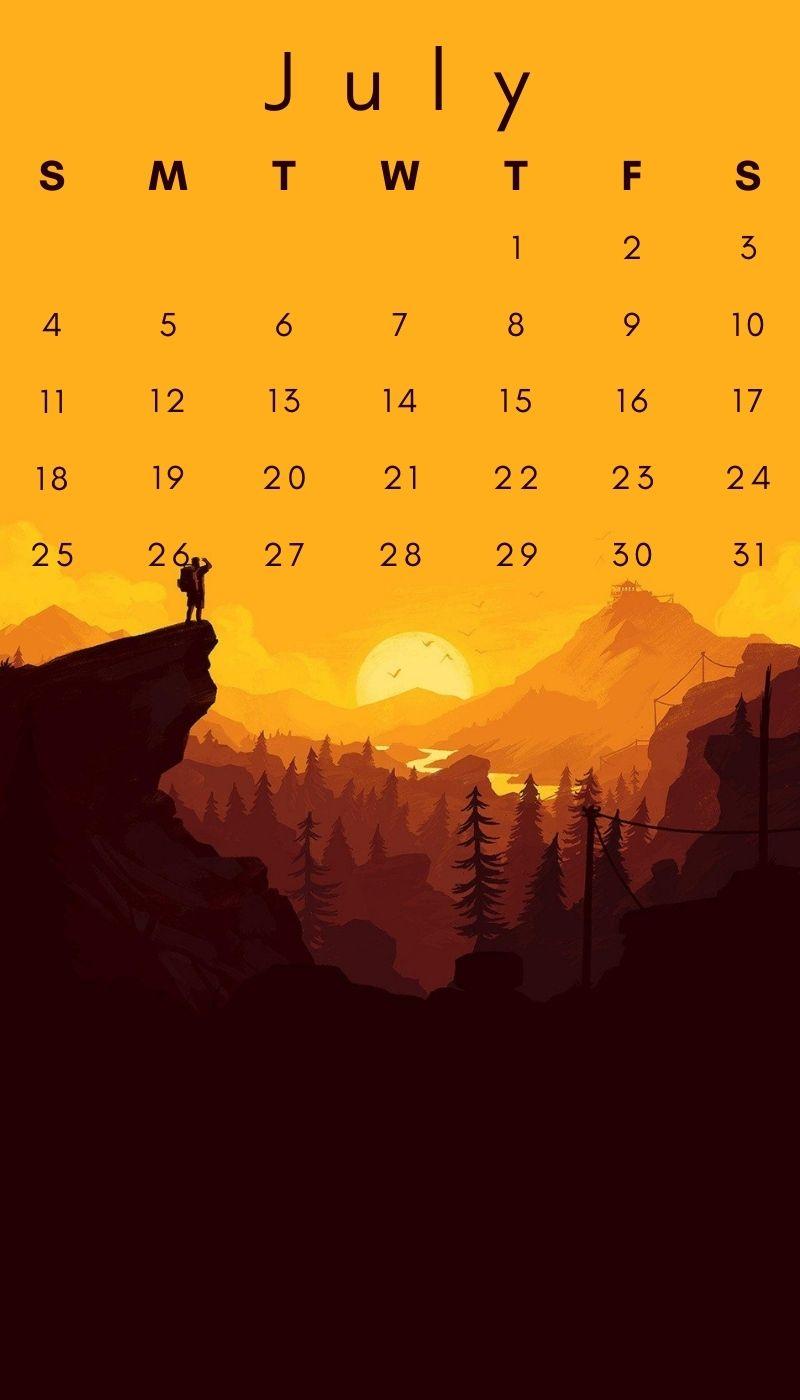 Free July 2021 Mobile HD Wallpaper